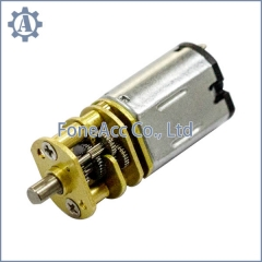 GM10-M10VA 10mm metal spur gear dc motor small dc motor