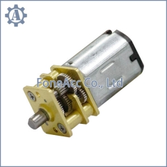 GM12-N20 small spur gear dc motor speed reducer metal spur gear dc motor